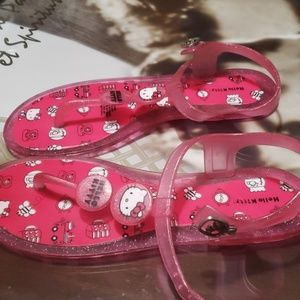 95c71da4a Hello Kitty Shoes - 4 for $20 Hello kitty strappy sandals